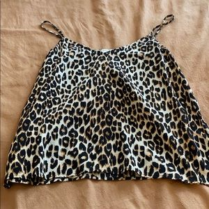 Equipment leopard cami
